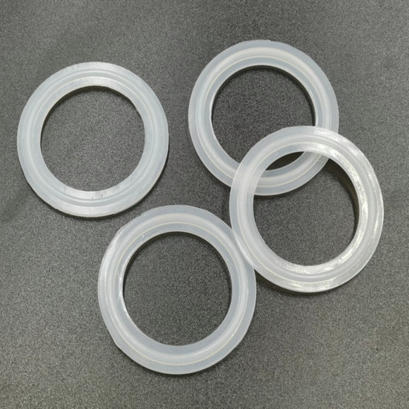 Sanitary Silicone Sealing Gasket Ring Washer fit 45mm O//D T Type Scoket Union