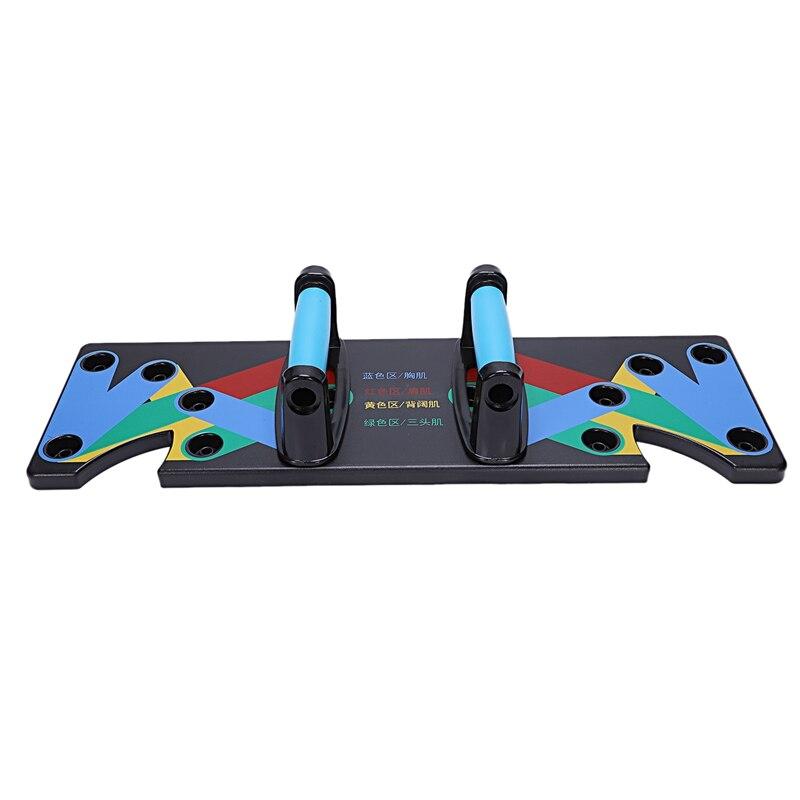 Push Up Rack Board 9 system мужские и женские универсальные для фитнеса Упражнения тренировка пуш ап подставки для тренировки, бодибилдинга тренажерно