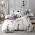 Slowdream nordic pena conjunto de cama lençol ou folha plana em casa elástico banda borracha folha capa colchão conjunto