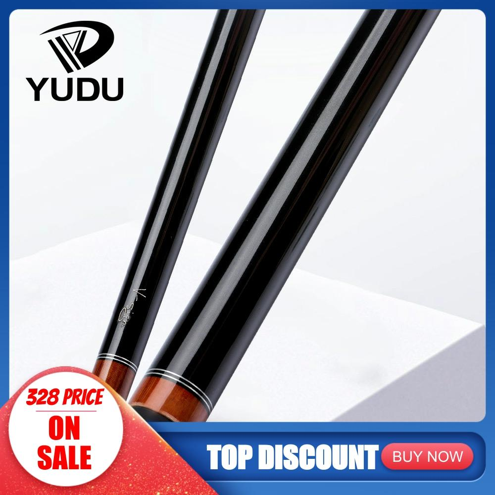 YUDU S2 Billiard Punch Cue 14mm Bakelite Tip With Joint Protector Selected Maple Shaft Billar Cue Break Cue For Many Gifts