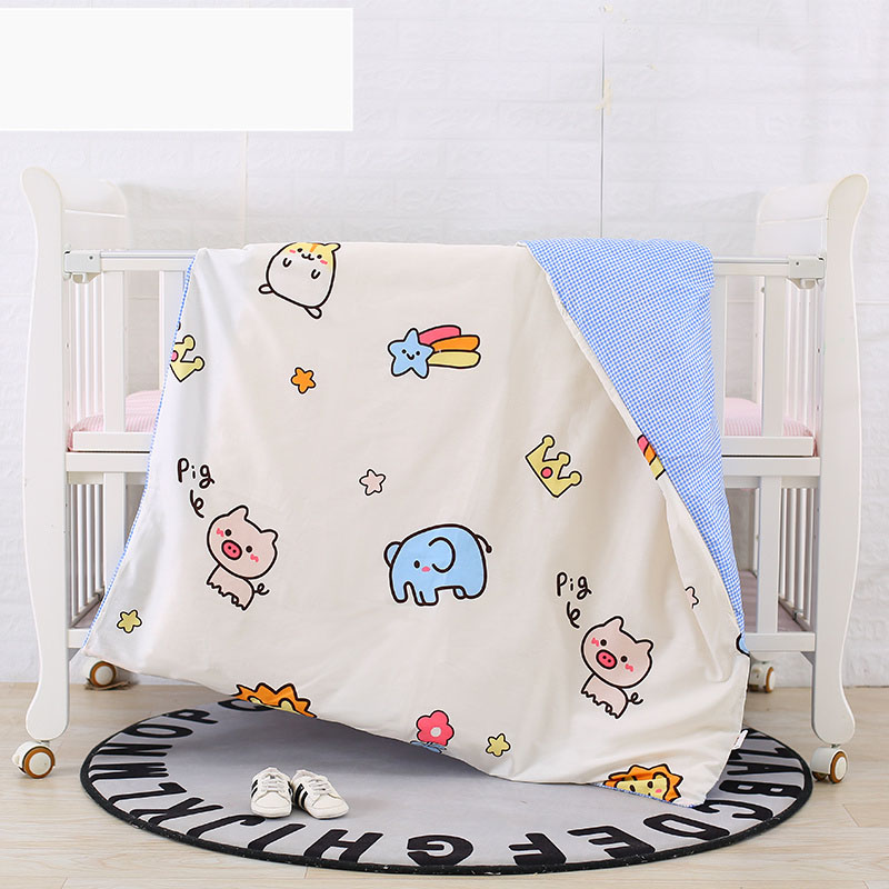 Duvet Covers For Baby Bedding Set Customized Size 100% Cotton Quilt Cover for Children Teenagers180x150cm Lovely Duvet Covers