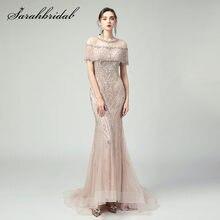2021 Роскошные вечерние платья Русалочки длинное платье из Дубаи