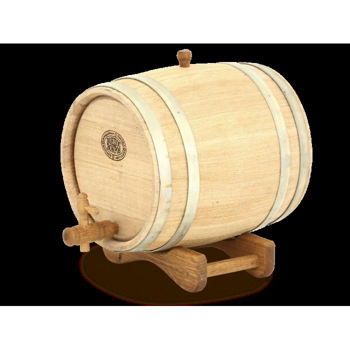 Дубовая Barrel Магарыч Barrel On The Stand With Crane Oak Natural Medium обжиг Barrel For Moonshine And Wine