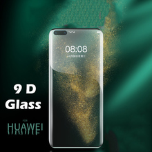 9D Tempered Glass For Huawei P30 P40 Lite Pro Mate 30 20 Pro Screen Protector Glass On Huawei P30 P40 Mate 30 20 Pro Glass Film full cover 9d tempered glass for huawei mate 30 pro mate 30 protective screen protector film