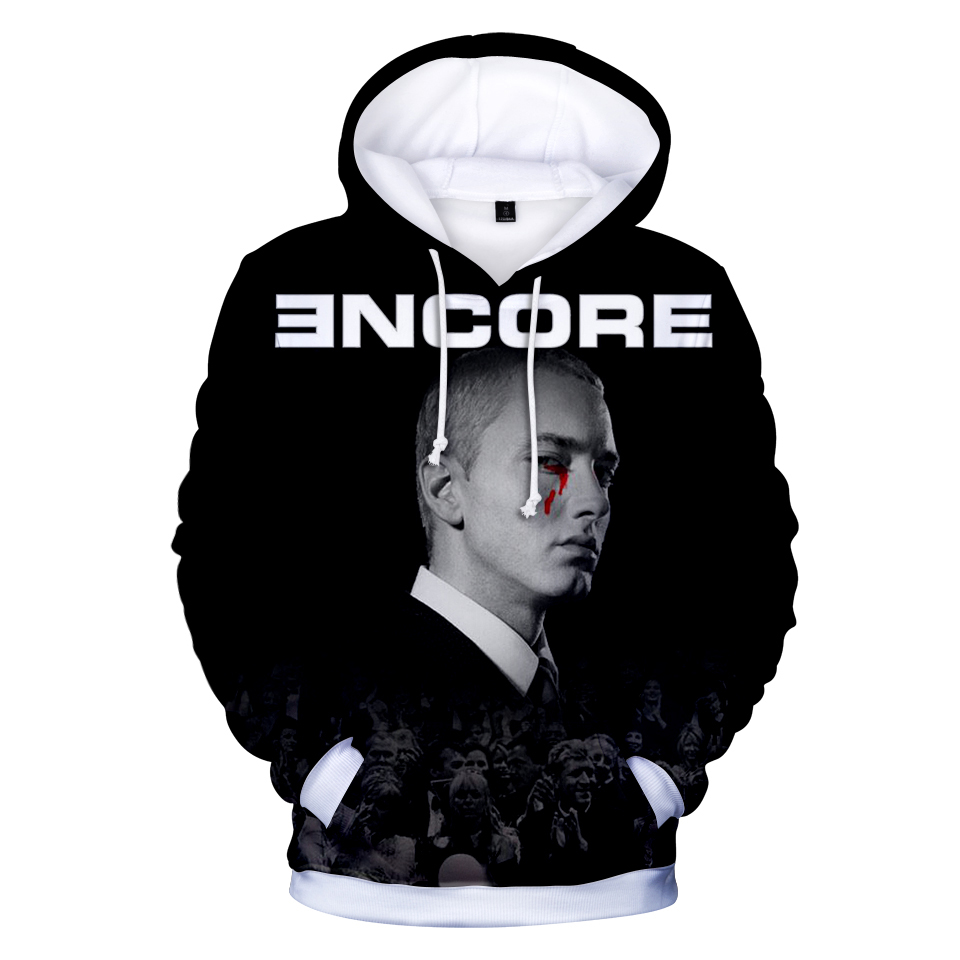 Rapper EMINEM 3D Hoodies Men Women Autumn Fashion 3D Hoodie Hip Hop Streetwear Sweatshirts 3D Print EMINEM Men's 3D Hoodies