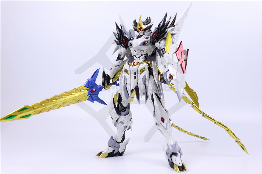 Image 2 - COMIC CLUB IN STOCK MOTOR NUCLEAR MN Q02 MB metal build 1/72 caoren alloy deformation action figure robot toyAction & Toy Figures   -