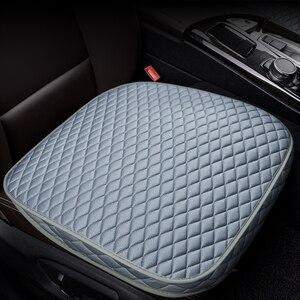 Image 3 - רכב קדמי אחורי מושב מכסה מכונית מושב המכונית כרית מושב כריות אוטומטי פנים רכב משאית Suv ואן מושב כיסוי מכונית מחצלת כיסוי