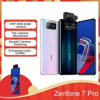 Original ASUS Zenfone 7 Pro Smartphone 8GB RAM 256GB ROM Snapdragon 865 Plus 5000mAh NFC Android Q 90Hz Global Version 5G Phone