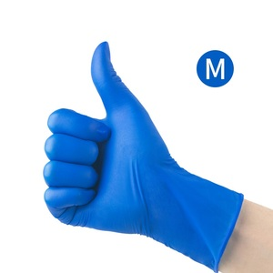 50 Pairs Disposable Glove Rubber Lattix Mittens Gloves Protective Rubber Gloves Wear Home Outside Thick Durable Latex Gloves
