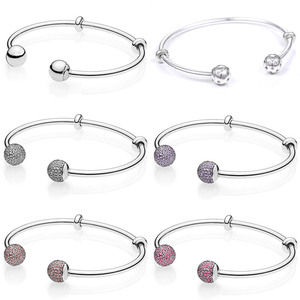 MOMENTS Open Bangle Shimmering