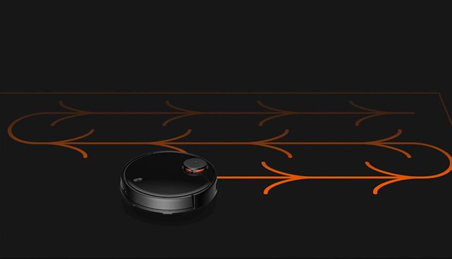H526937025d604325b00b961ae60a28e9f Present Gift Xiaomi Mijia STYJ02YM V2 pro mi robot Vacuum Cleaner 2 mop-p sweep mop suction 2 in 1 wifi EU Russia warehouse