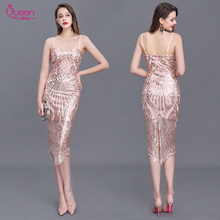Homecoming Dress Mermaid Sweetheart Sequin Knee-length with