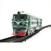 Oyuncaklar ve Hobi Ürünleri'ten Modeli Yapı Setleri'de HO ölçekli model Dongfeng İçten yanmalı motor elektrikli lokomotif modeli kitleri demiryolu promosyon kamyon konteynırları