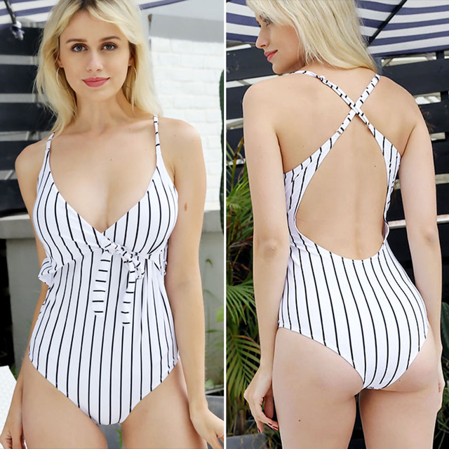 Backless One Piece Fashion Swimsuit 6