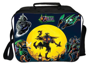 Lunch-Bag Ice-Cooler-Bag Picnic Thermal Insulated of Link Legend Zelda-Printing Camping