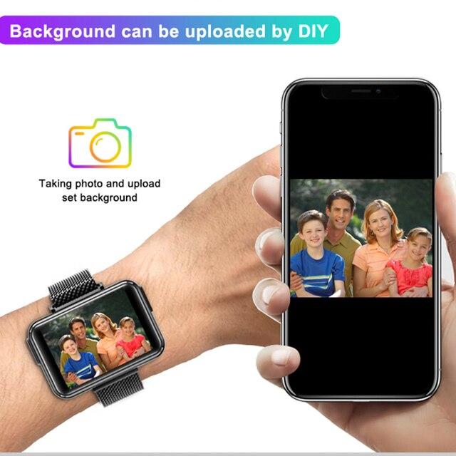 LEMFO TWS Wireless Bluetooth Earphones Smart Watch Men 1.4 Inch Big Customized Dials Bluetooth Calls Smartwatch pk airpods set 6