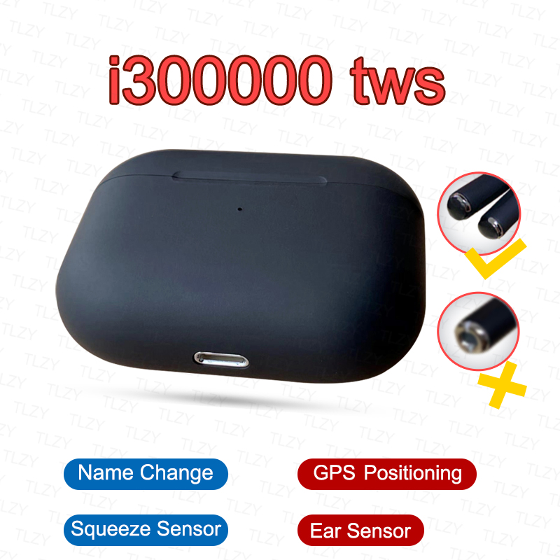 Original i300000 <font><b>TWS</b></font> air pro3 GPS Positioning Name Change <font><b>Smart</b></font> <font><b>Sensor</b></font> Bluetooth Earphone pk i10000 i200000 pro i9000max 1536u image