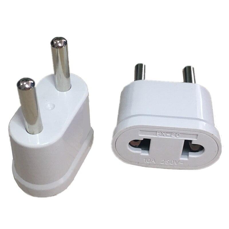 1 шт. ЕС KR переходник Япония США в ЕС Евро Европейский адаптер для поездок электрическая вилка зарядное устройство для сетевого шнура розетк...