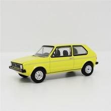 Greenlight 1:64 VW Golf MK1, желтая, без коробки