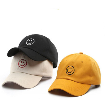 Baseball Cap for Men Casual Snapback Hip Hop Hat Women Summer Visors Caps Smiley Embroidery Hats for Unisex Snap back Caps 2015 alice in wonderland cheshire cat cartoon snapback hats bugs bunny sylvester cap for men women snap back baseball cap