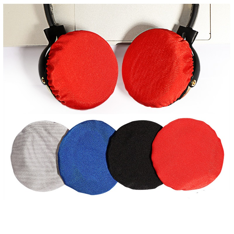 Universal <font><b>Headphone</b></font> Anti-dust Cover Earpads <font><b>for</b></font> 65mm 70mm 75mm 90mm <font><b>100mm</b></font> <font><b>Headphone</b></font> Flexible Round <font><b>Ear</b></font> <font><b>Pads</b></font> Cushion image