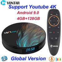 Android 9.0 TV Box 4GB RAM Rockchip RK3328 1080p 4K USB3.0 Google Play Store Youtube Netflix Set Top box HK1 Max Smart TV Box