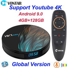 HK1 Max Android 9.0 Smart TV Box 4GB di RAM 64GB Rockchip3318 4K Play Store di Google Youtube Netflix HK1Max 4GB di RAM 32GB Set Top Box(China)