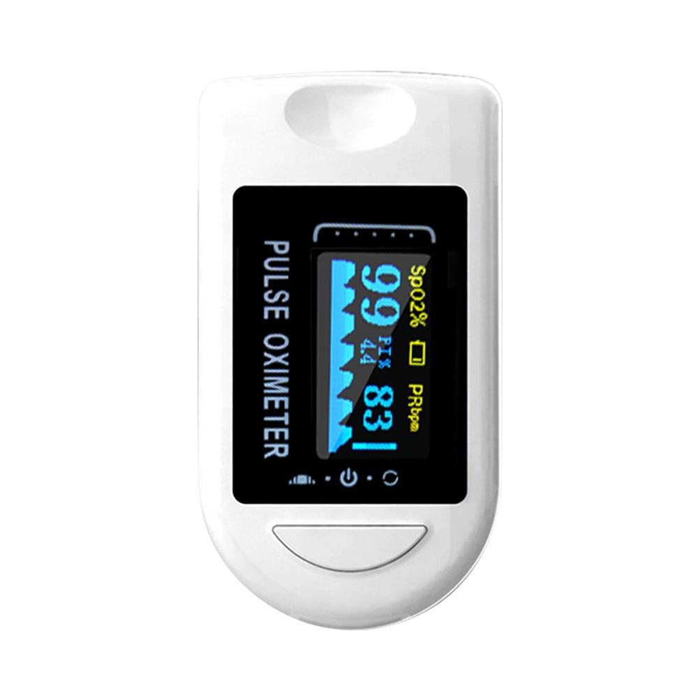 Portable Fingertip Pulse Oximeter OLED Blood Oxygen Heart Rate Saturation Meter Oximetro De Dedo Saturometro Monitor тонометр