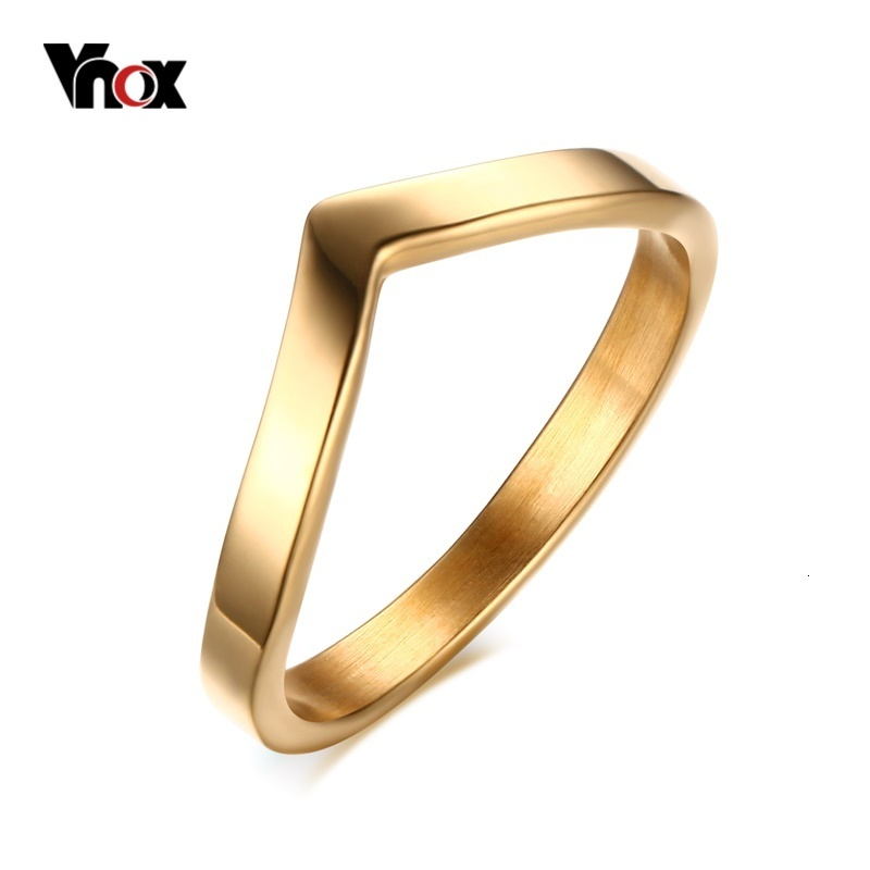 Italina Women Gifts Multi Band Cubic Zirconia Chevron V Shape Engagement Wedding Rings White-Gold//Gold//Rose-Gold Plated