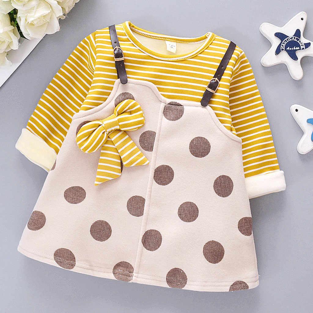 Recém-nascidos Vestido Infantil Do Bebê Da Menina Casacos de Inverno Jacket Snowsuit Grosso Pano de Lã Vestido de Princesa Vestidos Das Meninas Da Forma Quente M840 #