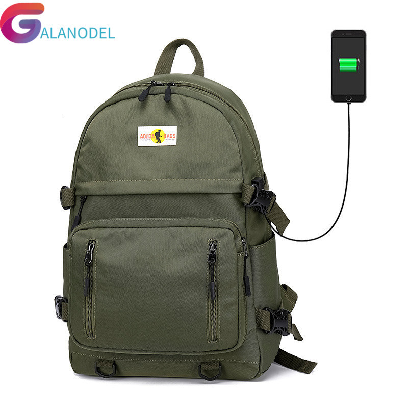 Usb Charging Women Backpack For Teenagers Girls School Bag Lady