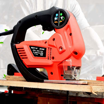 Electric Saw Portable Curve Sawing Wood/ Metal Cutting Machine With 4 Sharp Blades Cutter Electric Jig Saw M1Q-QH-65