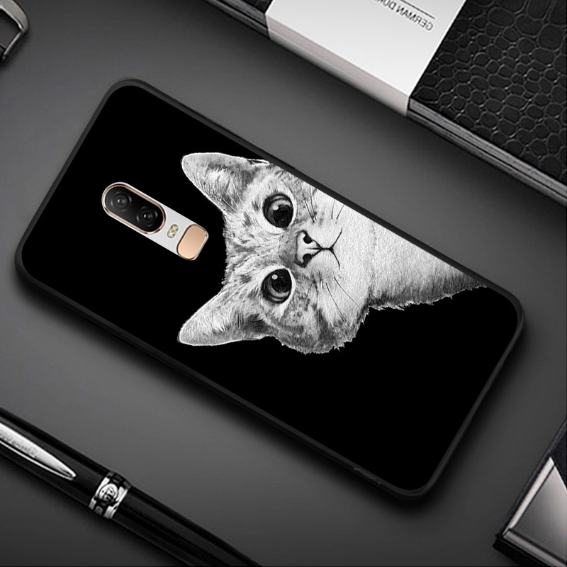 <font><b>3D</b></font> DIY Painted <font><b>Case</b></font> For <font><b>Oneplus</b></font> 7 Pro 7 6T <font><b>6</b></font> <font><b>Case</b></font> Black Soft Funda For <font><b>oneplus</b></font> One Plus 7Pro 7 Pro <font><b>6</b></font> T <font><b>Cases</b></font> Cover Capa oneplus7 image