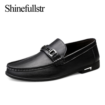 Luxury Shoes Men Loafers Leather Genuine Spring Autumn Zapatos De Hombre Mocasines Cuero Casual Slip On Lofer Hot Sale