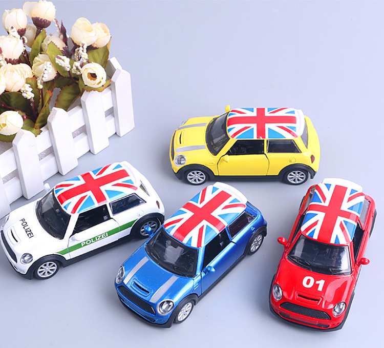 1:36 High Simulation Alloy Car Model Diecast Metal Pull-back MINI COOPER Alloy Car Model Toys Gifts For Children
