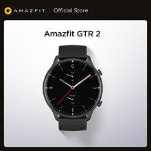 Novo amazfit gtr 2 smartwatch 14 dias vida da bateria 5atm confiante controle de tempo monitoramento do sono relógio inteligente para android ios telefone