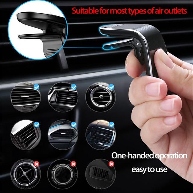 Metallo Magnetico Supporto Del Telefono Dell'automobile per Chevrolet Cruze Aveo Captiva Lacetti Mazda 2 3 6 CX5 Mitsubishi ASX Lancer Outlander KIA RIO 4