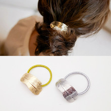New alloy thin leaf hairpin, head rope and leather band popular retro flower headdress Girl hairdressing gift wholesale