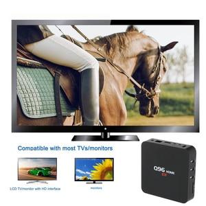 Image 5 - Q96 בית חכם אנדרואיד 8.1 טלוויזיה תיבת RK3229 Quad Core 1 GB/8 GB UHD 4K Media Player 2.4G WiFi H.265 סט למעלה תיבה עם שלט רחוק