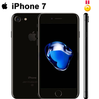 Unlocked Apple iPhone 7 4G LTE Cell Phone 32/128GB 1960mA 12.0MP Camera Quad Core Fingerprint 12MP Original factory 99%new