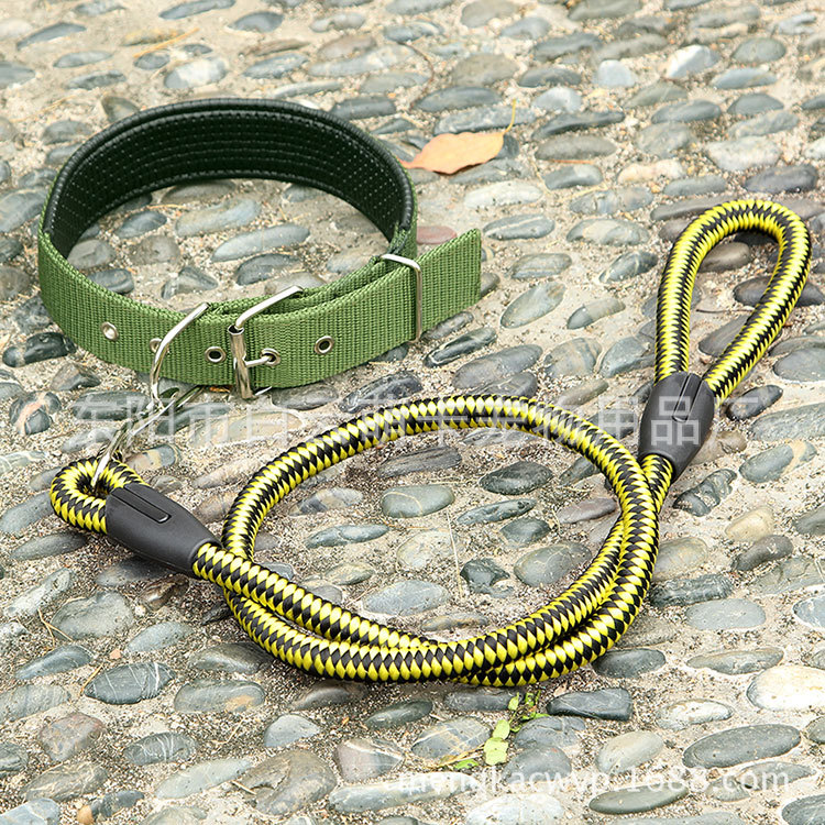 Pet Traction Rope Dog Set Traction Neck Ring
