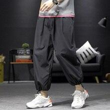 Trousers Casual-Pants Joker Joggers Streetwear Leggings Drawstring Elastic-Waist Loose
