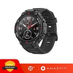 Nuevo reloj inteligente CES Amazfit t-rex 2020 Contrl Music 5ATM GPS/GLONASS 20 días MIL-STD de vida de batería para xiaomi iOS