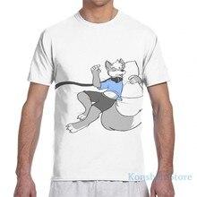 Sleepy peludo lobo snoozing men camiseta feminino todo impressão moda menina t camisa menino topos camisetas de manga curta