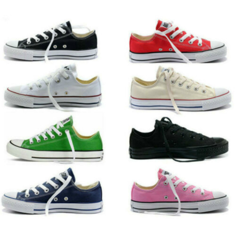 2020 new men and women hot sale Dames Chuck-Taylor Aylor All Star Lage Ox Hoge top womens sneakers Canvas Schoenen casual shoes