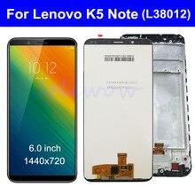 Для Lenovo K5 Note L38012 ЖК-дисплей сенсорный экран дигитайзер в сборе с рамкой 2018 версия для Lenovo L38012 K5 NOTE LCD