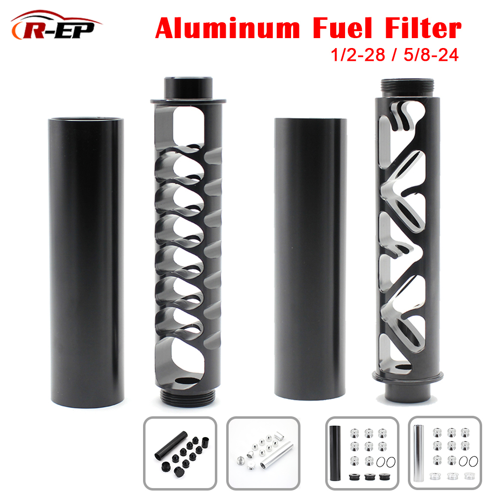 R-EP 1/2-28 5/8-24 Fuel Filter Aluminum Solvent Trap for NAPA 4003 WIX 24003