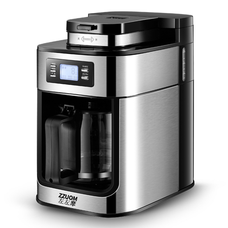 Fully automatic coffee machine American drip coffee machine coffee bean automatic grinding All in one machine tea machine Coffee Makers Home Appliances - title=