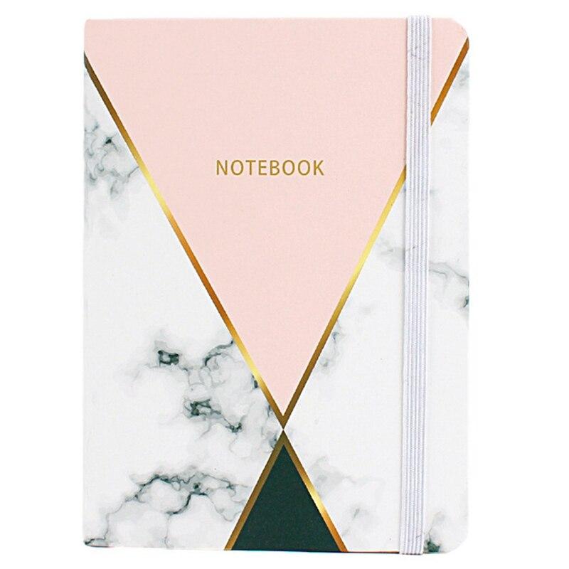 1 pçs mármore criativo a7 caderno estudante bolso bloco de notas papelaria material de escritório portátil escola papelaria 96 folhas diário