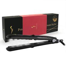 Плоский паровой утюжок для выпрямления волос профессиональный
